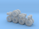 """1/50th Heavy 52"""" Oilfield or Off Road tires, set 2 in Frosted Ultra Detail"""