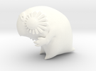 Large Kakapo (lux) in White Strong & Flexible Polished