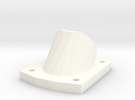 1/6 Panzer III Brake Vent in White Strong & Flexible Polished