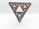 Sierpinski Trefoil Knot in Stainless Steel