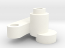 S99-S02 D132 chip adapter in White Strong & Flexible Polished