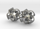 Metatron 12mm Pair - For silver earrings in Raw Silver