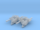 Gatline Cannon 001a Carried 4x Pack in Frosted Ultra Detail