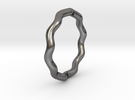 Sine Ring Round 15.6mm in Polished Nickel Steel