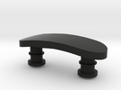 Personalised Vivosmart Clasp in Black Strong & Flexible
