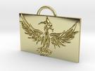 Phoenix in Flight in 18k Gold Plated