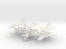 1/260 Sukhoi Su-22 (x6) in White Strong & Flexible