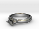 Moon Rocket Ring S 9 2015 in Premium Silver