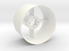 Ducted fan 50mm Stator with intake in White Strong & Flexible Polished