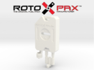 AJ10017 RotoPax 1 Gallon Fuel Pack - WHITE in White Strong & Flexible Polished