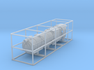 N Scale PRR L1 Shell for Kato Mikado Mechanism in Frosted Ultra Detail
