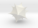 Mathematica 1B Spikey in White Strong & Flexible