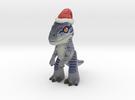 Velociraptor B Christmas in Full Color Sandstone
