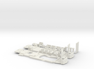 Kinki Boston Chassis for Bowser parts in White Strong & Flexible