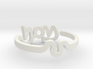 Inner Child Ring Size 6.75 in White Strong & Flexible