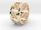 Twist Ring in 14K Gold