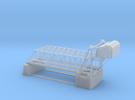 Double Bascule Lift Bridge Z Scale in Frosted Ultra Detail