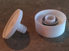 ring holder The Ringmaster Solid in White Strong & Flexible