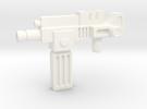 Lightspeedgun  in White Strong & Flexible Polished