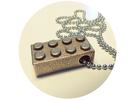 Lego Pendant in Stainless Steel
