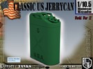 1/10.5 US Army Jerrycan in Green Strong & Flexible Polished