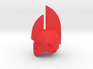 Honor Guard Helm in Red Strong & Flexible Polished