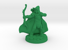 Elf Ranger (28mm scale) in Green Strong & Flexible Polished