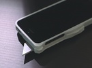 Utility Blade Case for iPhone 5 in White Strong & Flexible Polished