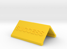 Motivational Novelties in Yellow Strong & Flexible Polished