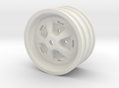 "Range Rover Classic rim 1.9"" for RC4WD 1.9"" 5 Lug  in White Strong & Flexible"
