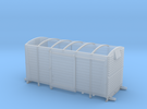 LMS 12 ton Vent Van body, no roof - 4mm scale in Frosted Ultra Detail