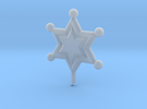 Outer Senshi Star in Frosted Ultra Detail