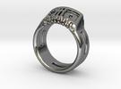 B0rg3 ring in Premium Silver