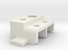 Tamiya Pajero/Montero Rear Lamp Housing, Left in White Strong & Flexible