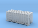 20 Waste Container Manchester (N Gauge 1:148) in Frosted Ultra Detail