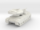 MG144-UK02A Centurion Mk 5 MBT (with skirts) in White Strong & Flexible