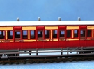 4mm scale LBER All Third or Composite Carriage in White Strong & Flexible