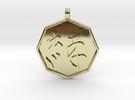 kizuna (Bonds) pendant in 18k Gold Plated