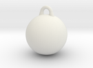 Smooth Wrecking Ball for Bruder Crane Toy in White Strong & Flexible