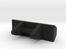 Rear Axle Support in Black Strong & Flexible