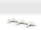 F-18C 1/210 x3 in White Strong & Flexible