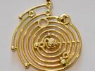 Mini Solaro Calendar in Polished Brass