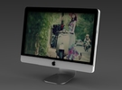 Apple iMac GR - Portrait in White Strong & Flexible