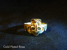 NOLA Claddagh, Ring Size 13 in White Strong & Flexible