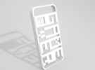 GAMEOVER iPhone 5 Case in White Strong & Flexible