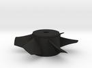 Ducted Fan 90mm rotor left turn in Black Acrylic