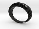 Blaadjesarmband-taps-L in Black Strong & Flexible