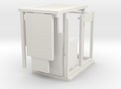 Bus Shelter type 3, 1:50th scale in White Strong & Flexible