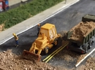 Caterpillar 416 Backhoe - Zscale in Frosted Ultra Detail