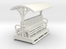 55n9 Longitudinal seat open coach   in White Strong & Flexible